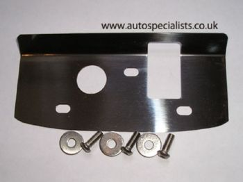 3dr RS Cosworth bonnet catch striker plate cover - Fittings included.