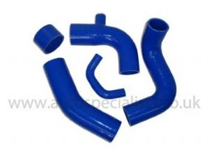 Six-piece Boost Hose Kit for Fiesta RS Turbo fitted with T3 Turbo and a Uprated Intercooler