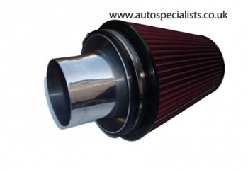 AIRTEC Group A Cone Filter with 102mm Alloy Trumpet for Cosworth - Fits GT Turbos