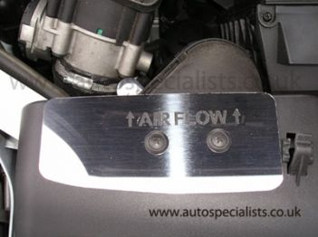 AS Airflow Deflector Trim with Logo for MK2 Focus ST 2005-2008