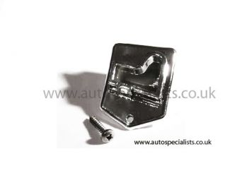 AS Chrome Bonnet Stay Top Securing Clip