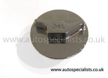 AS Push'n'Twist Oil Filler Cap with Raised Logo