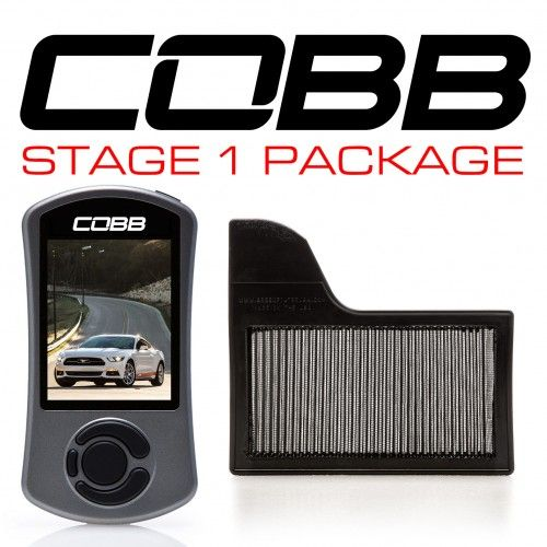 Cobb Ford Stage 1 Power Package Mustang Ecoboost 2015-2017