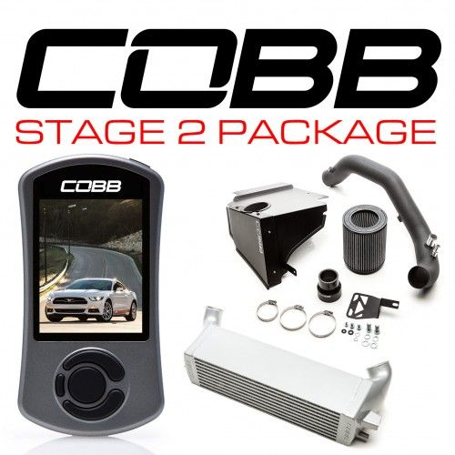 COBB Ford Stage 2 Power Package Mustang EcoBoost 2015-2017