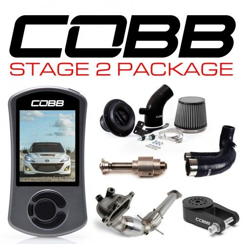 COBB Mazdaspeed3 GEN2 Stage 2 Power Package W-V3