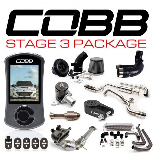 COBB MAZDASPEED3 GEN2 STAGE 3 POWER PACKAGE W-V3