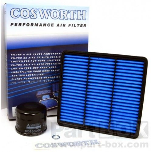 Cosworth Air & Oil Filter Service Kit Mitsubishi Lancer Evolution 7-9 CT9A