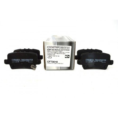 Cosworth TrackMaster Rear Brake Pads Honda Civic Type R FN2 Euro
