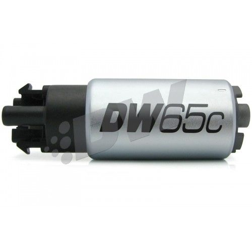 Deatschwerks DW65C 265lph Compact Fuel Pump With Clips w/ 1009 Install Kit Nissan GTR R35
