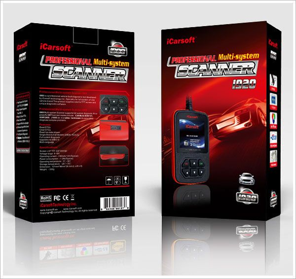 iCarsoft Multi-system Scanner i920 for Ford Holden +OBDII