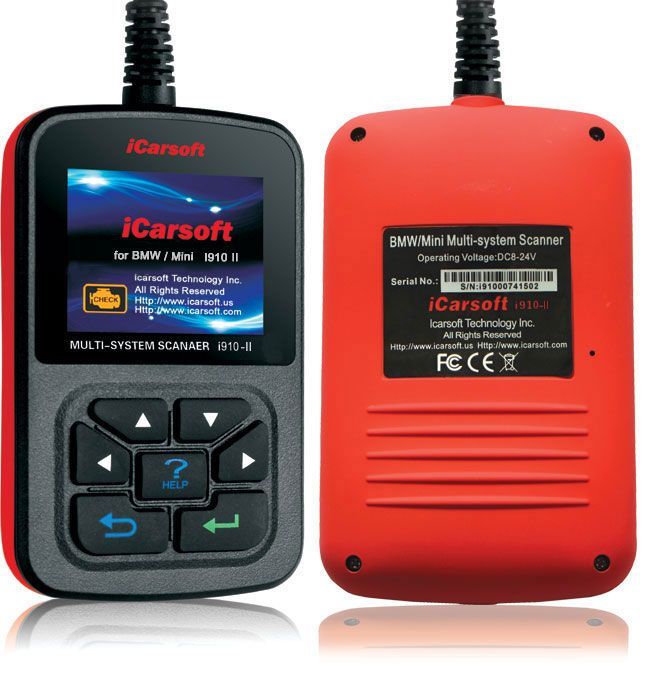 iCarsoft Multi-system Scanner & Oil Reset i910-II for BMW/Mini - sale