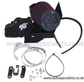 K&N Gen2 Cone Air Filter Upgrade for Focus RS MK1