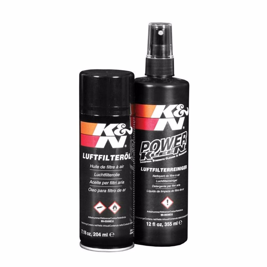 K&N Recharger Kit Air Filter Care Service Kit Oil Degreaser