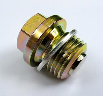 M16 x 1.5 x 12mm Magnetic Oil Sump Drain Plug