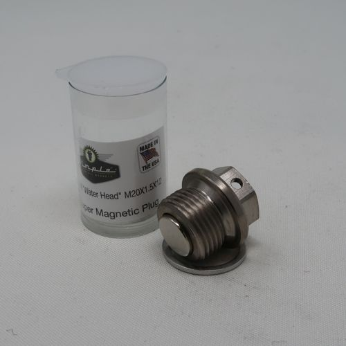 M20 x 1.5mm x 14mm Magnetic Oil Sump Drain Plug