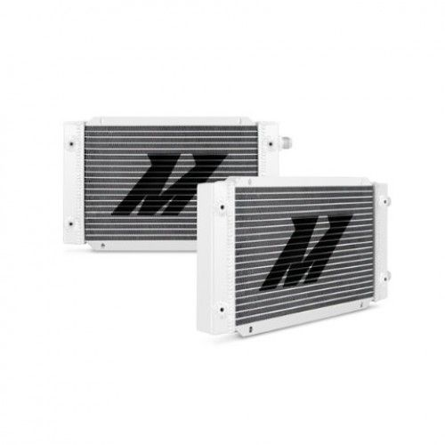 Mishimoto Silver Universal 19 Row Dual Pass Oil Cooler