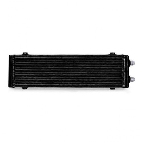 Mishimoto Universal Dual Pass Bar & Plate Oil Cooler, Large, Black