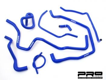Pro Hoses Eight-Piece Ancillary Hose Kit for Fiesta MK5 Zetec S